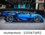 frankfurt   sept 2015  bugatti... | Shutterstock . vector #1253671852