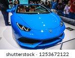 frankfurt   sept 2015 ... | Shutterstock . vector #1253672122