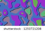 background in paper style.... | Shutterstock . vector #1253721208