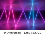 3d render  abstract background  ... | Shutterstock . vector #1253732722