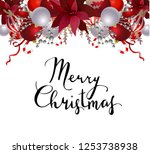 winter holiday background | Shutterstock .eps vector #1253738938