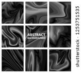 the set of abstract backgrounds ... | Shutterstock .eps vector #1253751535