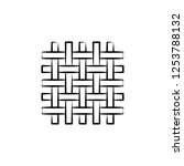 wool  weave icon. element of... | Shutterstock .eps vector #1253788132