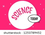 word writing text science....   Shutterstock . vector #1253789452