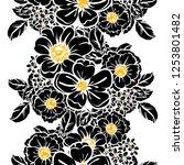 abstract elegance seamless... | Shutterstock . vector #1253801482