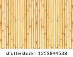 Old Bamboo Fence Background ...