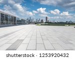 panoramic skyline and modern... | Shutterstock . vector #1253920432
