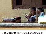 moshi  kilimanjaro   tanzania   ...   Shutterstock . vector #1253930215