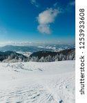winter calm mountain landscape...   Shutterstock . vector #1253933608
