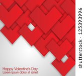 card to st. valentine.... | Shutterstock .eps vector #125393996