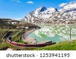 rhaetian railway   bernina... | Shutterstock . vector #1253941195
