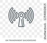 wireless connection icon....   Shutterstock .eps vector #1254002815