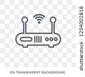 wireless router icon. trendy...   Shutterstock .eps vector #1254002818