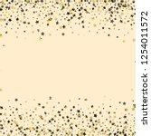 stars confetti horizontal... | Shutterstock .eps vector #1254011572