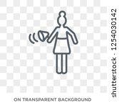 women's rights icon. trendy... | Shutterstock .eps vector #1254030142