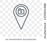 places to photograph icon....   Shutterstock .eps vector #1254041488