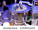 vcr rotating video head close... | Shutterstock . vector #1254041635