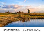 Windmill Farm River Landscape....