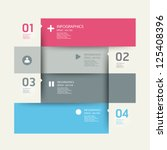 modern design template   can be ... | Shutterstock .eps vector #125408396