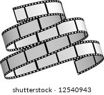 wavy film 2 | Shutterstock . vector #12540943