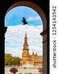 seville  spain   november 13 ... | Shutterstock . vector #1254143542