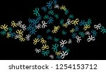 festive background with... | Shutterstock .eps vector #1254153712
