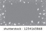 flying snow background. festive ... | Shutterstock .eps vector #1254165868