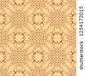 abstract art deco tiles... | Shutterstock .eps vector #1254172015