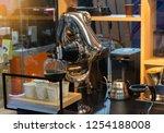 robot mechanical arm make a cup ...   Shutterstock . vector #1254188008