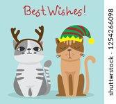vector illustration of... | Shutterstock .eps vector #1254266098