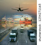 Small photo of the logistics system services are all include seafreight saling with land trucking trailer and air swift delivery shipments always in time, one stop services for all kinds of transports cargo services