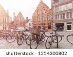 bruges  belgium   march 23.... | Shutterstock . vector #1254300802