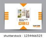 flyer  brochure  billboard... | Shutterstock .eps vector #1254466525