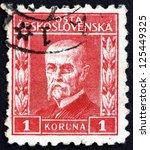 czechoslovakia   circa 1925  a...   Shutterstock . vector #125449325