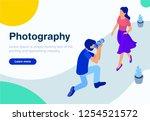 isometric concept of...   Shutterstock .eps vector #1254521572