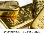 Several Cast Gold Bars Of...