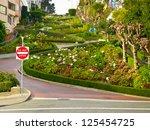 Lombard Street On Russian Hill  ...