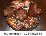 traditional christmas... | Shutterstock . vector #1254562558