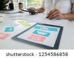 creative web designer planning...