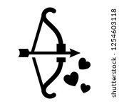 love symbol. valentine's day...   Shutterstock .eps vector #1254603118