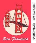 San Francisco Poster Vector...