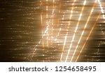 abstract gold bokeh circles.... | Shutterstock . vector #1254658495