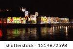 lyon  france   december 5  2018 ... | Shutterstock . vector #1254672598