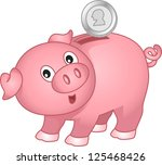 bank,cartoon,children,clip art,clipart,coin,coin bank,cutout,design,design elements,early savings,eps,graphic,illustration,isolated