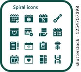vector icons pack of 16 filled...   Shutterstock .eps vector #1254707398
