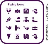 vector icons pack of 16 filled...   Shutterstock .eps vector #1254713842