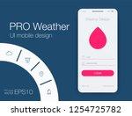 weather forecast app ux ui...