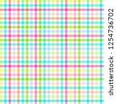 checkered pattern. linear...   Shutterstock .eps vector #1254736702