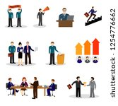 political elections and voting... | Shutterstock .eps vector #1254776662