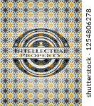 intellectual property arabesque ... | Shutterstock .eps vector #1254806278